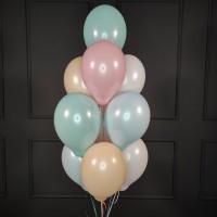 Фонтан из шаров нежное ассорти