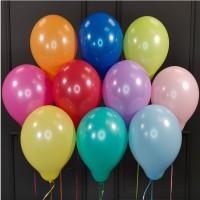 Воздушные разноцветные шары