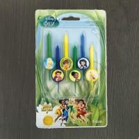 Свечи для торта Disney Феи 6 шт