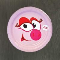 Набор тарелок Смешарики Нюша - 8 шт
