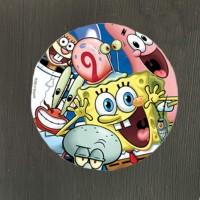 Набор тарелок Губка Боб 17 см - 8 шт