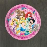 Набор тарелок Принцессы 23 см - 8 шт