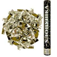 Хлопушка пневматическая золотые конфетти
