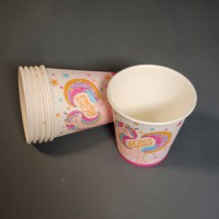 Набор стаканов с единорогом 250 мл – 6 шт