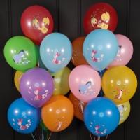 Композиция воздушные шары с Винни Пухом ассорти